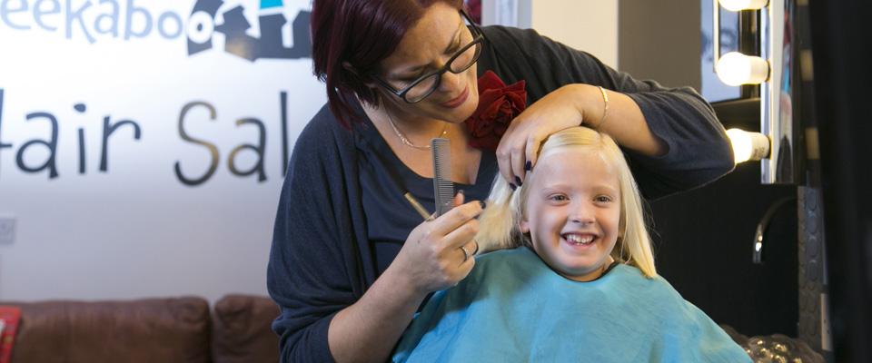 funky kids hair salon
