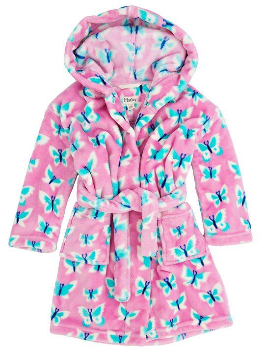 Fuzzy-Fleece-Robe-Icy-Butterflies