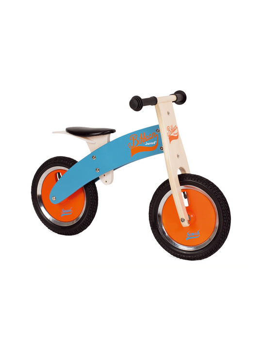 balance bike blue & orange