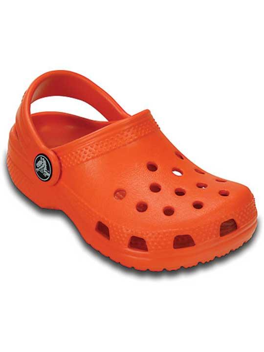 orange-crocs